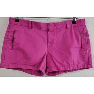 JCP Pink Flat Front Chino Shorts 14 Pockets